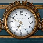 Wooden Clock: Sweden!