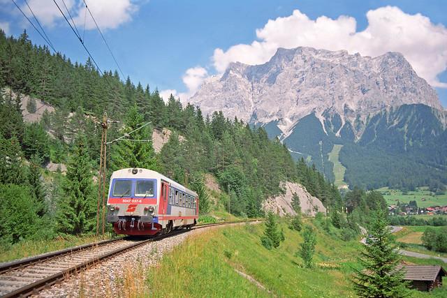 ÖBB 5047 - RB 5468 Garmisch Partenkirchen - Pfronten Steinach  - Ehrwald