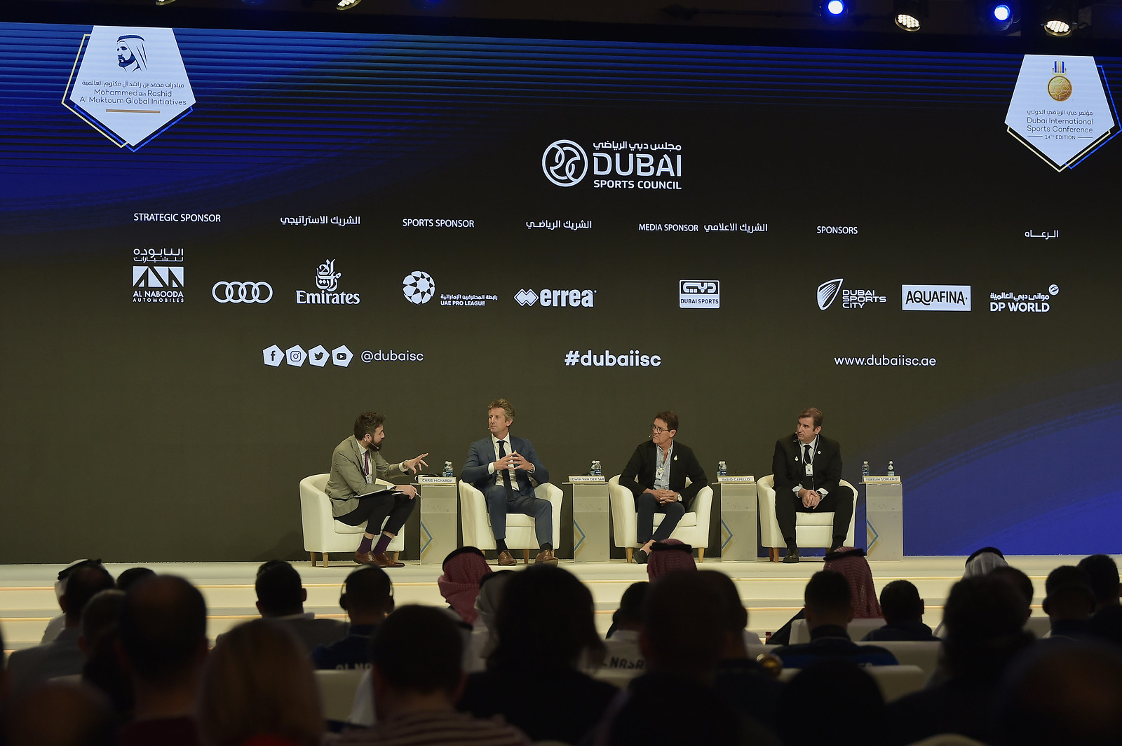 14ma edizione di Dubai International Sports Conference - The Regulations and Players Transfer Reform - Globe Soccer Award 2019