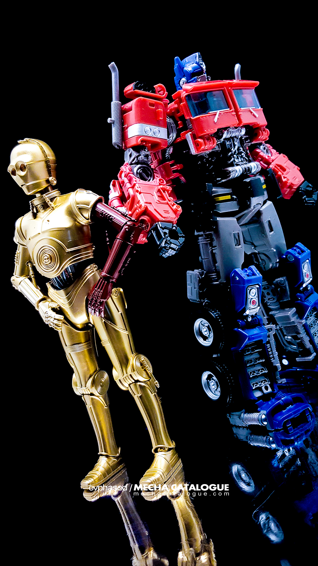 The Next CATALOGUE Entries: C-3P0 × Optimus Prime