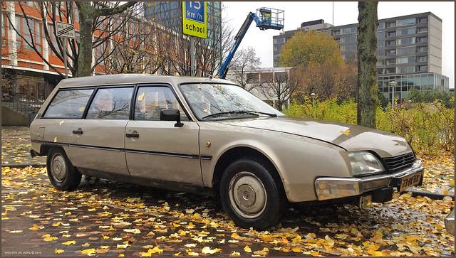 Citroën CX 20 Break, 1985