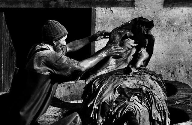 Chouara Tannery's Worker (5)