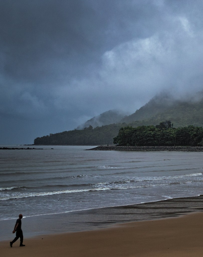 Santubong in Clouds and Mist