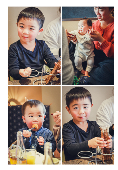 家族・親戚の集まり 食事会 男の子 赤ちゃん