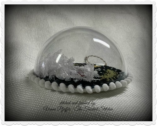 VP House Snow Globe 3