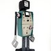Recycled materials robot :le conteur