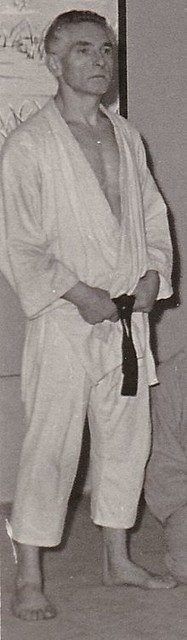 Jean Andrivet, professeur de Judo