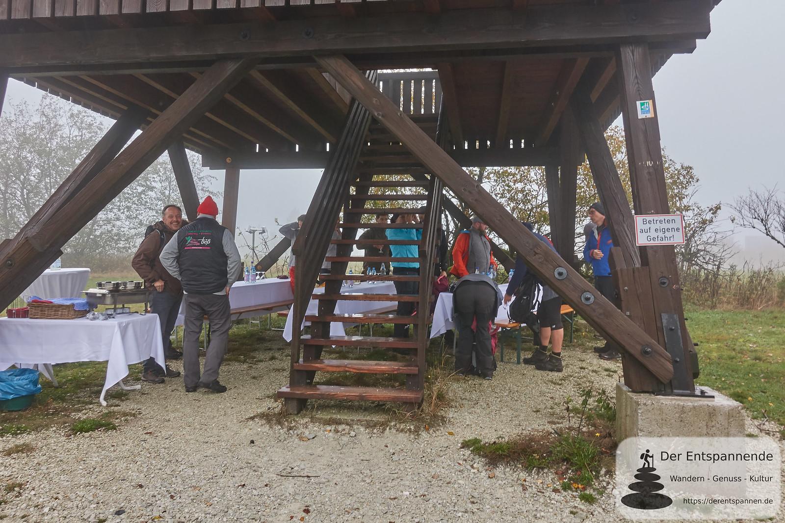 Wanderpause auf dem Erbeskopf, Saar-Hunsrück-Steig, Etappe 10