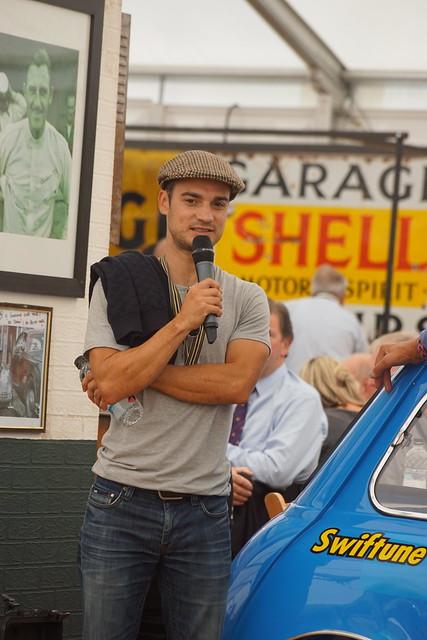 Dani Pedrosa, MotoGP Rider, Barry Sheene Memorial Trophy, Goodwood Revival Meeting