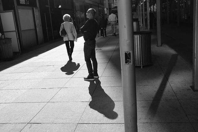 Shadows at Penn Plaza