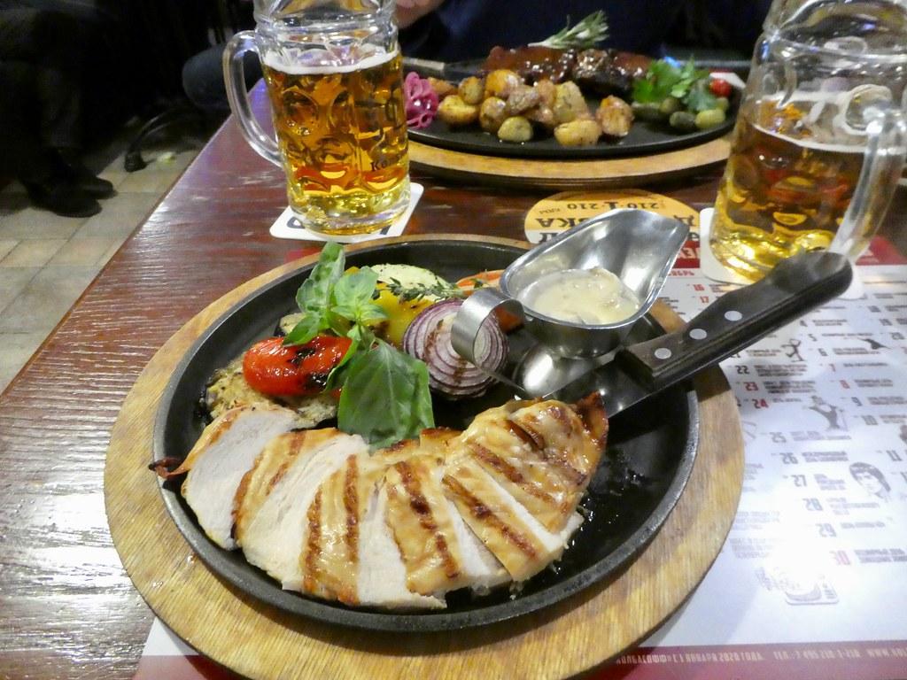 Dinner in Sokolniki Moscow