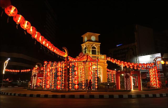 Chinese New Year Lanterns in Phuket Town
