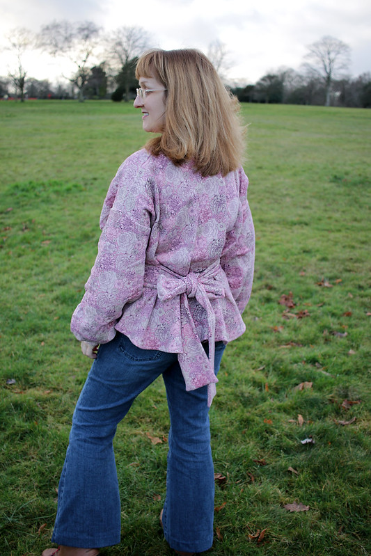 Digital Pattern Library Liberty Belted Sweater