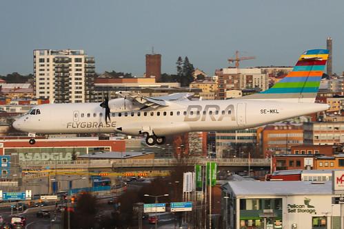 BRA Braathens Regional Airlines ATR 72-600 SE-MKL 191228 BMA