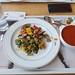 K obědu grilovaná zelenina, gulášovka a 0.4l sody 13.10E