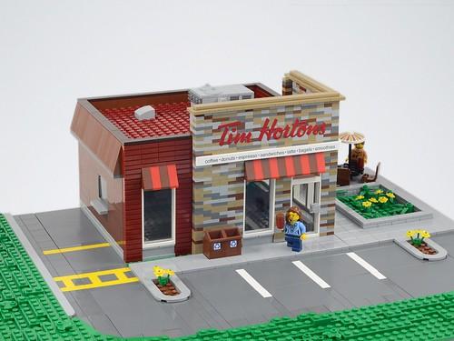 Lego Tim Hortons Coffee Shop