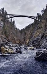 Salginatobel Bridge from below