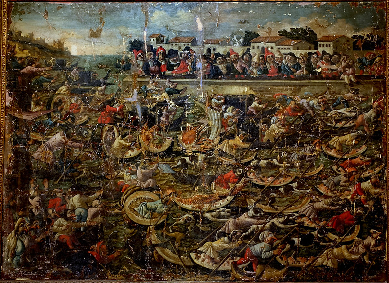 The Master of the Fertility of the Egg - Watermelon Regatta, 17th Century