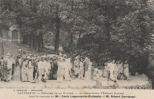 Cora Laparcerie and Albert Darmont in La Samaritaine