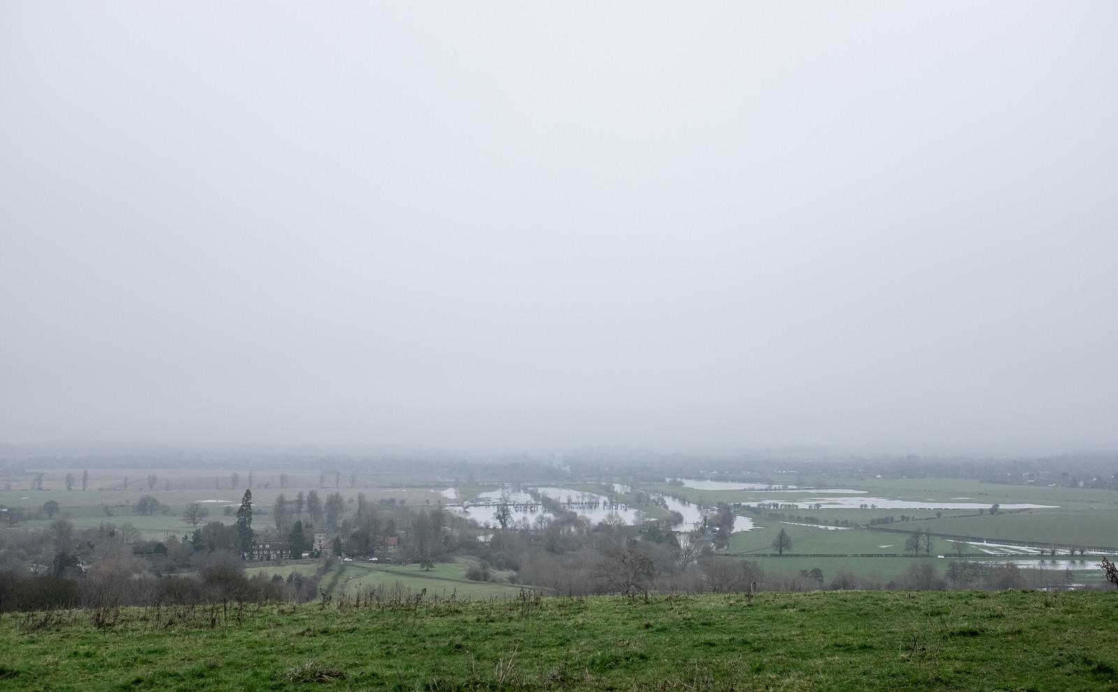 It's a bit gray today