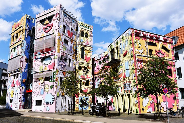 The Happy Rizzi House in Braunschweig, Germany