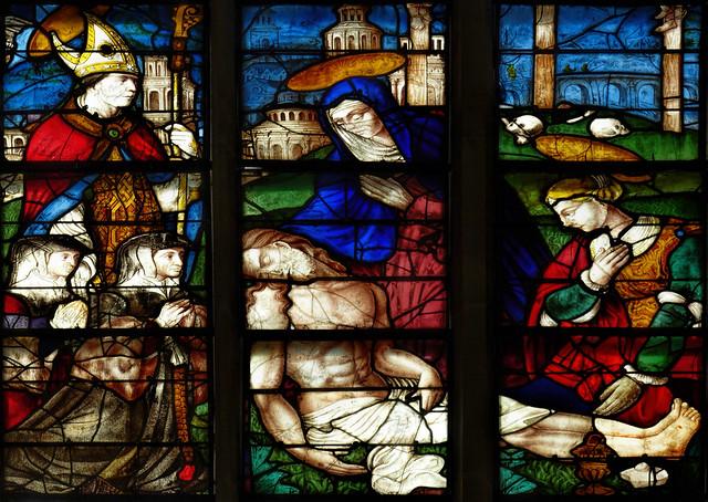 Fri, 04/29/2016 - 10:45 - Pieta by Bertin Duval (1530) -  Alençon France 29/04/2016