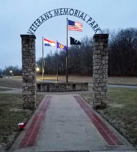 veteransmemorialpark parks flags rollamo phelpscountymo missouri