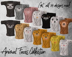 Animal Faces Collection