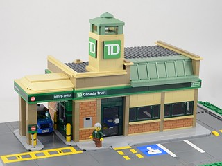 Lego TD Bank | by michaelgale