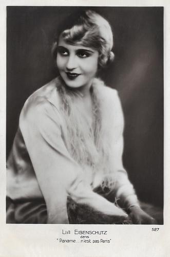 Lia Eibenschutz in Paname...n'est pas Paris (1927)