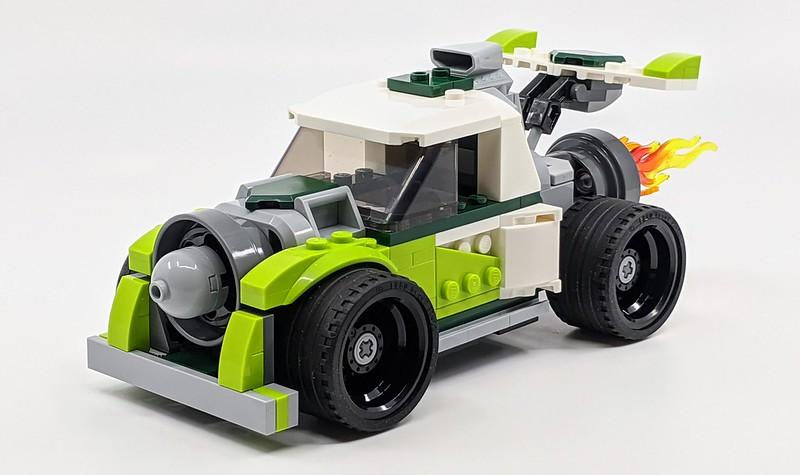 31103: LEGO Creator 3-in-1 Rocket Truck Review   BricksFanz