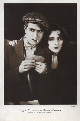 Jaque Catelain and Ruth Weyer in Paname...n'est pas Paris (1927)