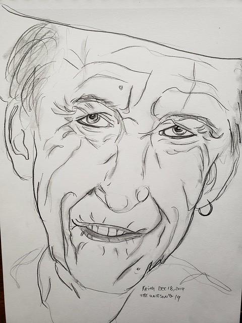 Keith quick sketch