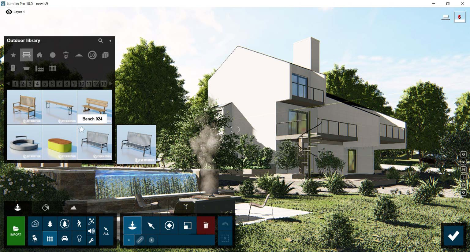 Working with Lumion Pro 10 full license