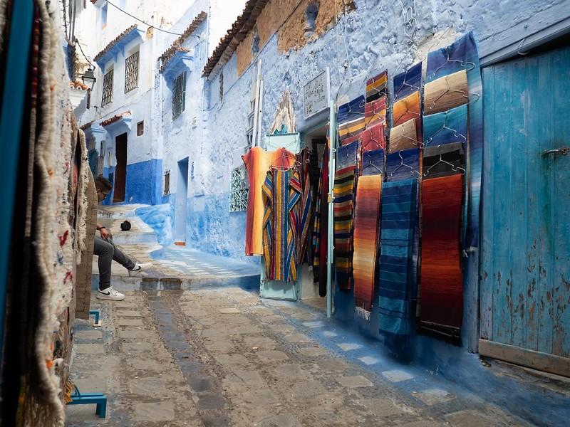 モロッコの絨毯