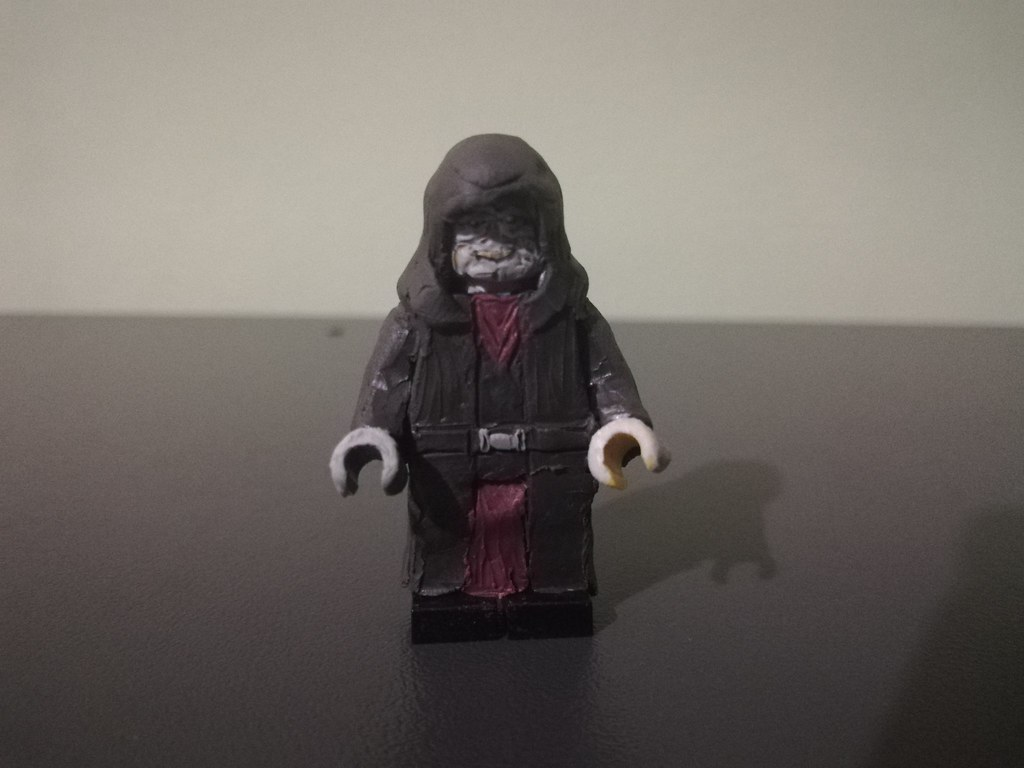 Custom Lego Emperor Palpatine Minifigure From Star Wars T Flickr