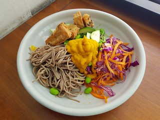 Soba Bowl at Felix For Goodness