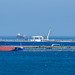 Crude Oil Tanker, SEAROVER & Oil Products Tanker, CANJA - Bay of Gibraltar