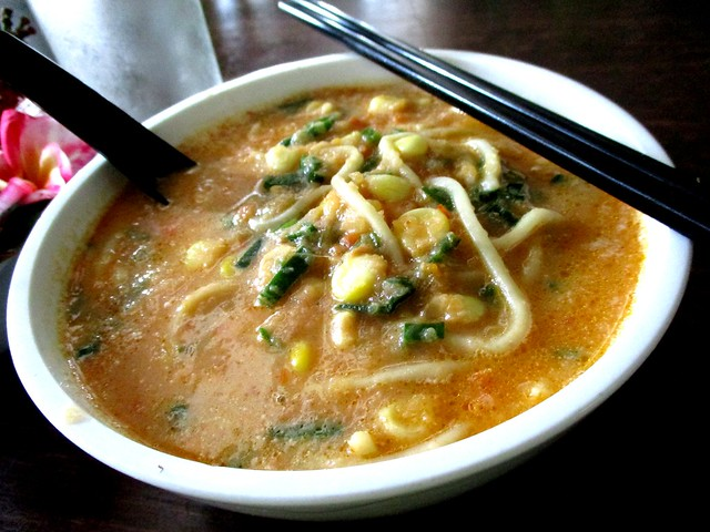 Payung Cafe tomato noodles 1