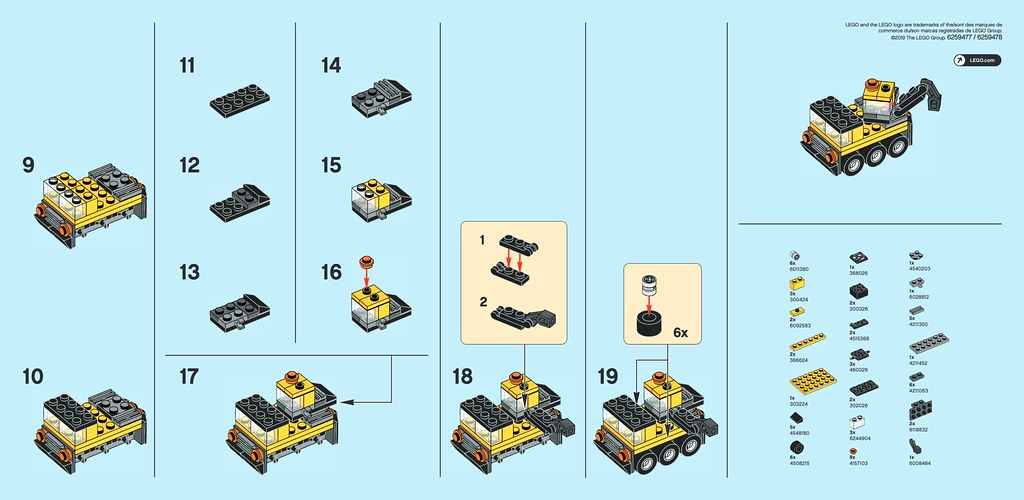 LEGO MMB MAY 2019 Crane