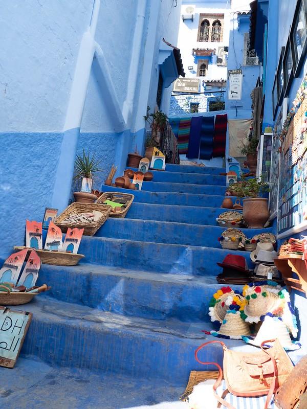 モロッコの階段