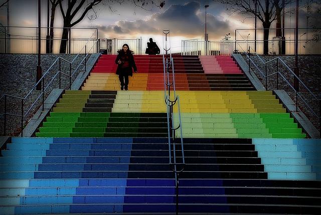 Stairway (Anamorphose d'Alberonero)