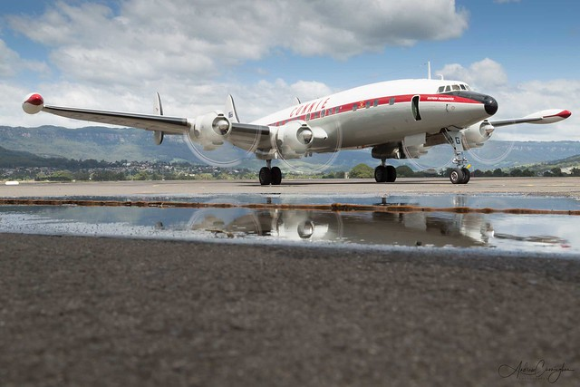 Lockheed C-121C Super Constellation @ HARS Tarmac Day 2019-02-09