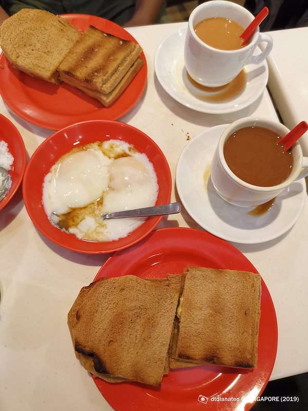 2019 Singapore Ya Kun Kaya Toast
