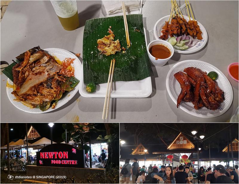 2019 Singapore Newton Food Centre