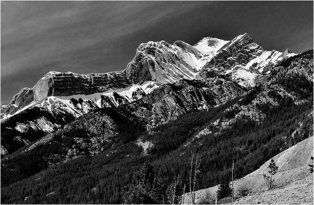 Allstones Peak, David Thompson Highway