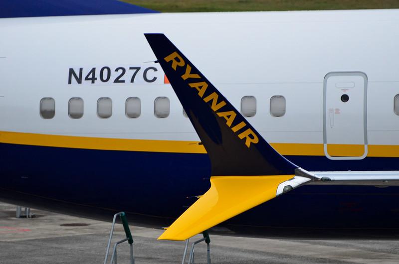 Ryanair Boeing 737-8-200 Max EI-HGG
