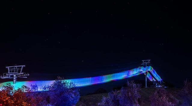 illuminated gondola