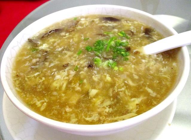 Ming Mei Shi sea cucumber soup
