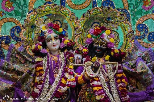 ISKCON Vrindavan Deity Darshan 29 Dec 2019